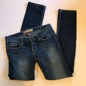 BKE Madison embellished skinny jeans
